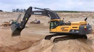 Volvo Excavator Volvo Ec480d Excavator With Big Swinging Sand