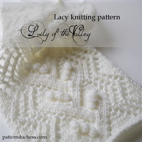 how do you say knitting in knitted lace pattern with nupps pattern duchess