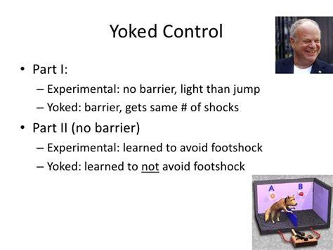 yoked experimental design research methods experimental design i single factor