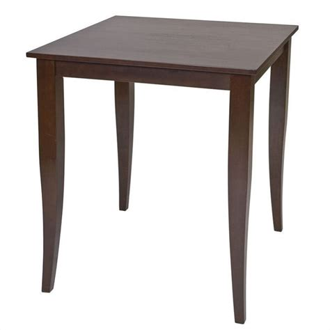 Espresso Bar Table Pub Table In Espresso Finish Jt432