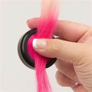 chalk hair color dip dye hair is easy to create with hair chalk or colour rub