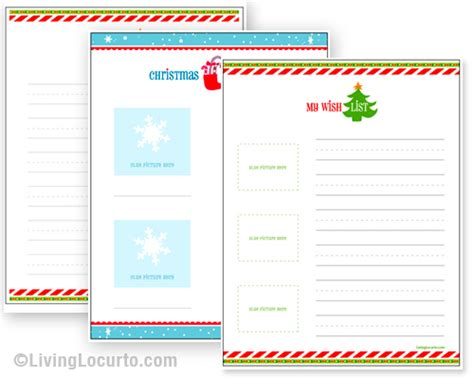 printable christmas list maker free printable christmas wish list 24 7 moms