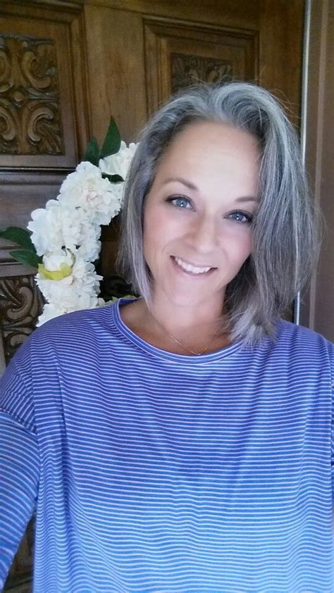 hairstyles for letting grey grow out 78 images about silver gray hair styles on pinterest