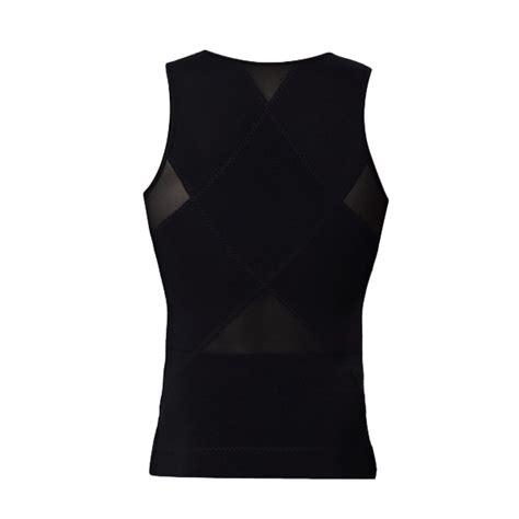 Korset Tank Top Germa Shape Up compression elastic corset zipper vest shaper