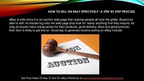 How To Sell On Ebayiii Step By Step Guide Through by How To Sell On Ebay Effectively A Step By Step Process