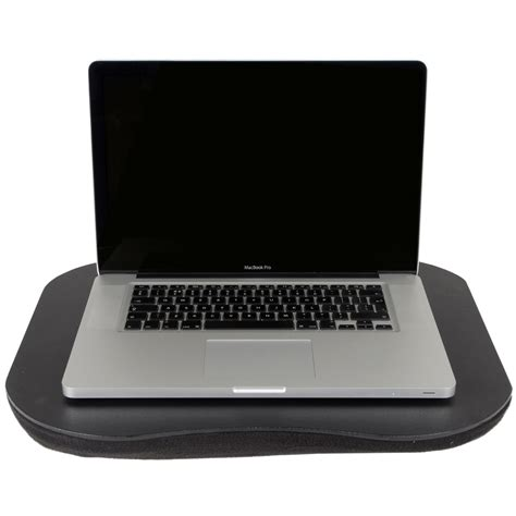 Cushioned Laptop Desk Portable Cushioned Laptop Computer Writing Homework Tray Desk Table Black Ebay