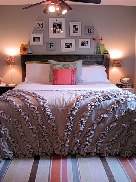 Diy Comforter by Diy Tutorial Drop Cloth Ruffle Duvet Cover By Rachael