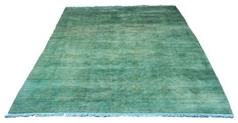 Seafoam Green Area Rugs Seafoam Green 6x9 Overdyed Rug Traditional Area Rugs
