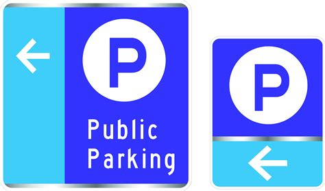 signs of an new way finding parking signs in downtown downtown yakima