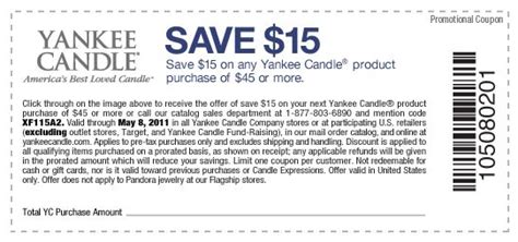 yankee candle coupons 15 off 45 printable yankee candle coupon 15 off 45 printable coupon 2017