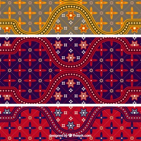 batik pattern vector ai colorful batik pattern illustrator vector vector free