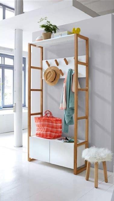 Attrayant La Redoute Be Meubles #4: vestiaire-blanc-et-bois-rangement-interieur-la-redoute.jpg