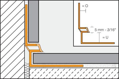 schluter 174 dilex eke cove shaped profiles profiles