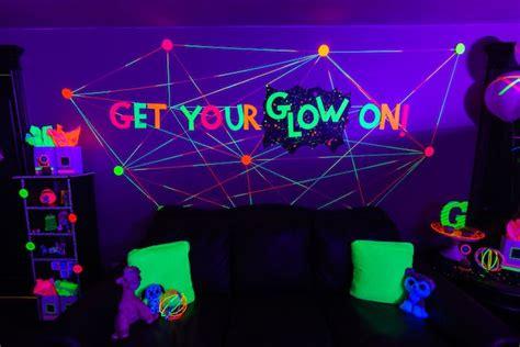 glow dance birthday party dance party birthday neon