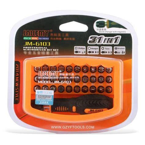 Tools Jak3my Jm 6103 jakemy jm 6103 31in1 screwdriver set