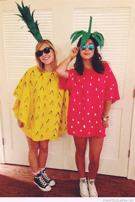 halloween pineapple  strawberry costume food