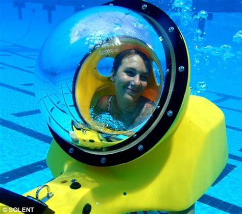 water scooter drivers underwater scooter allows amateur divers to explore coral