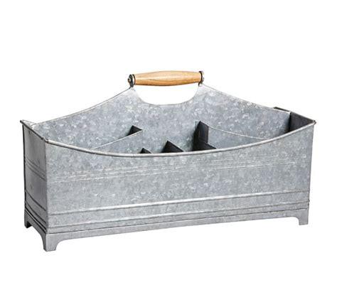desk caddy for galvanized desk caddy pottery barn