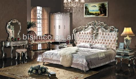 luxury king size bedroom sets european style bedroom furniture set upholstered headboard