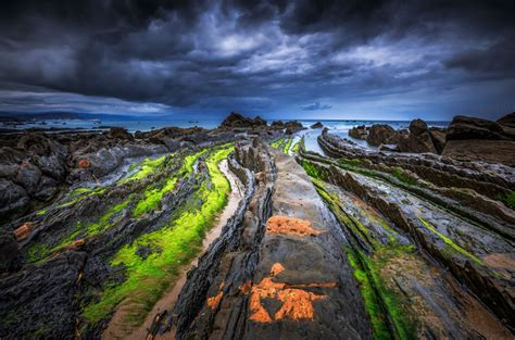 colors of spain colors of barrika coast spain photo one big photo