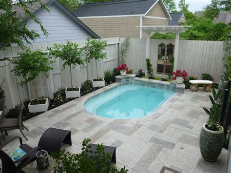 Backyard Spool by Spool And Garden Eclectic Pool Houston By Nature
