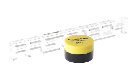 Nitecore Silicone Grease For Flashlights Sg7 2 78 Authentic Nitecore Sg7 Silicone Grease For Flashlight Maintenance 5g At Fasttech
