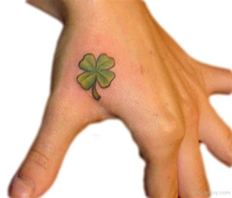 nice tattoo for hand 25 nice sketches and pictures for shamrock tattoos