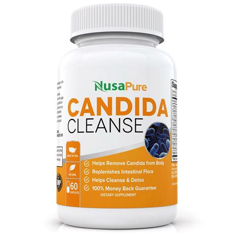 Candida Diet Detox Side Effects by Nusapure Candida Cleanse Review Does It Work