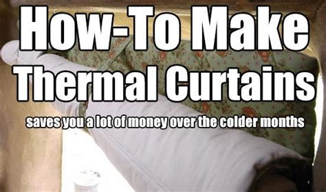 make your own thermal curtains how to make your own energy saving thermal curtains these