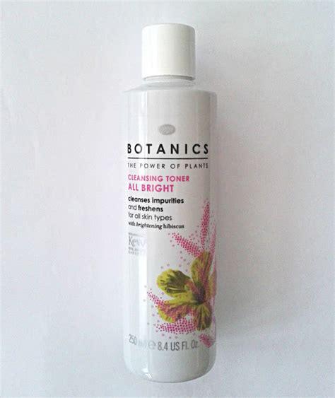 Botanics Detox Brush Review by Toasty Review Botanics All Bright Cleansing Toner