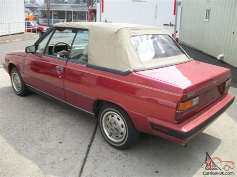 1985 renault alliance 1985 amc renault alliance convertible