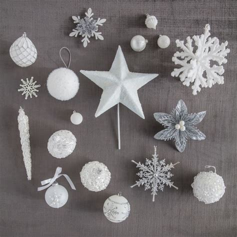 martha stewart white christmas ornaments how to decorate a winter white tree martha stewart