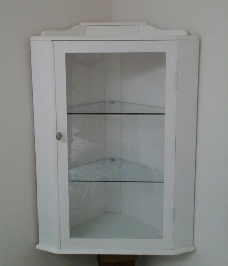 White Wall Mounted Cabinet by White Wall Mounted Corner Cabinet For Sale In Arklow