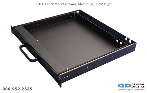 Rack Mount Keyboard Drawer by Rack Mount Keyboards General Digital