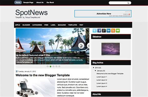 blogger news templates free download free blogger templates download style best 2012 one only