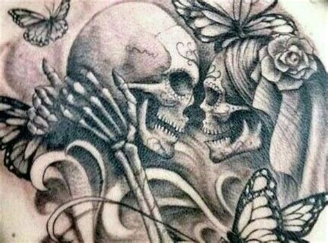amor eterno calaveras pinterest tattoo
