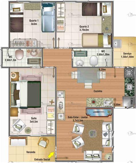 plantas de casas floorplanner plantas e projetos de casas populares gr 225 tis 50 modelos incr 237 veis