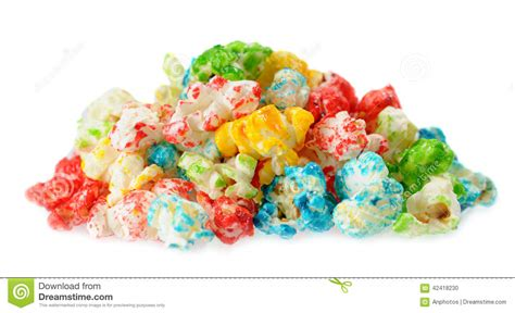 colorful popcorn colorful popcorn stock photo image 42418230