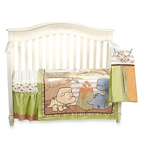 Cocalo Crib Bedding Cocalo Dino Mite 8 Crib Bedding Set And Accessories Bed Bath Beyond