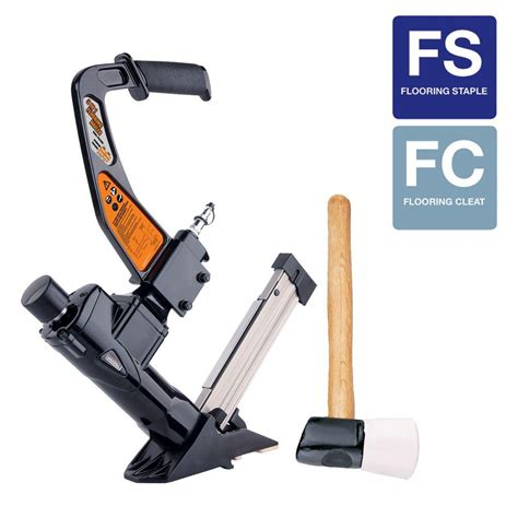 freeman 3 in 1 flooring nailer pfl618c the home depot