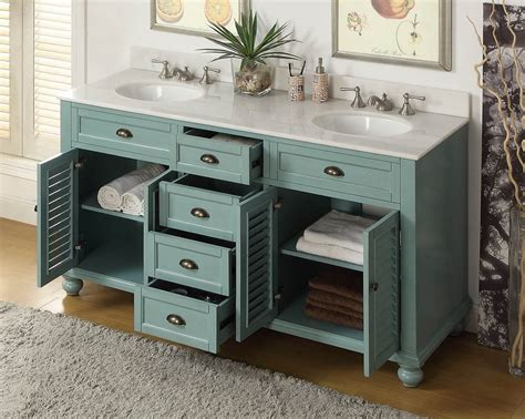 custom double sink bathroom vanity kitchen complete your kitchen decor with perfect 60 inch