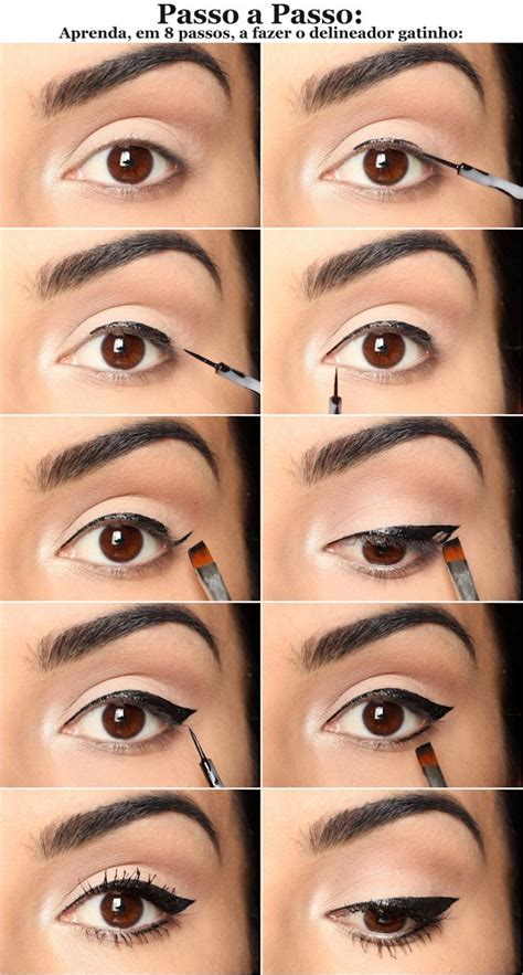 tutorial maquillaje ojos eyeliner perfect liquid eyeliner applying technique alldaychic