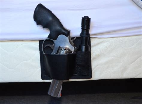 bed gun holster gear review sharkgunleather bed mattress gun holster with