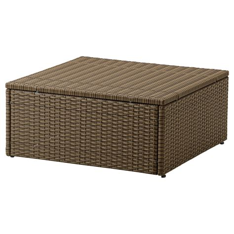 ikea outdoor arholma table stool outdoor brown 65x65 cm ikea