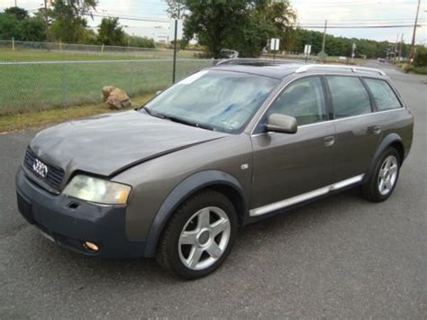 Salvage Audi by Sell Used Audi Allroad Awd Salvage Rebuildable Repairable