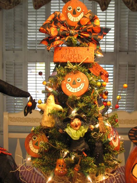 country creations by denise new witchy halloween tree
