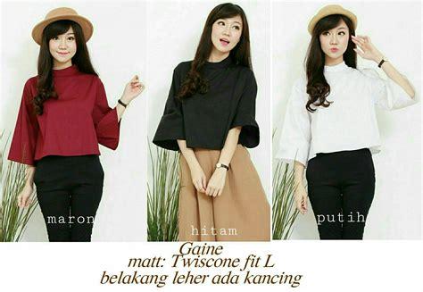 Baju Atasan Blouse Tunik Wanita Lengan Panjang Murah Terbaru 1228 30 model baju atasan wanita blouse tunik cantik lengan