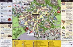 theme park brochures universal studios theme