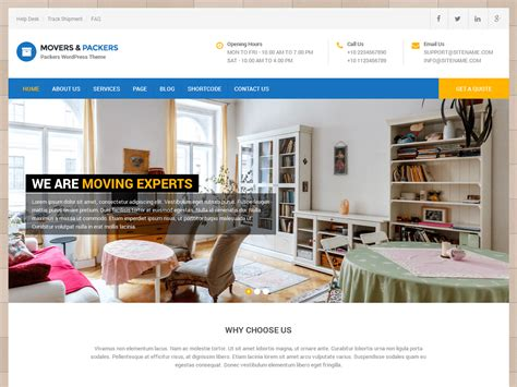 Theme Directory Free Wordpress Themes Packers And Movers Html Templates