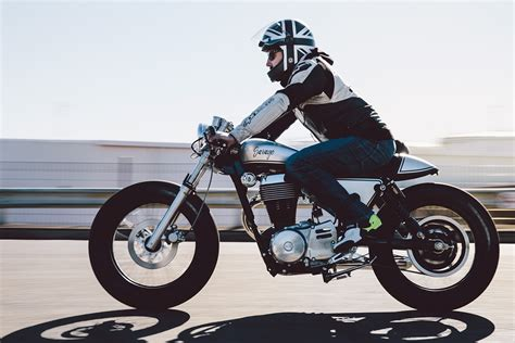 Suzuki Savage Cafe Cliff S Suzuki Savage Cafe Racer Throttle Roll